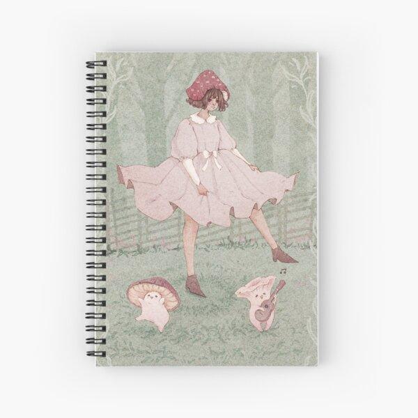 Dancing mushrooms  Spiral Notebook