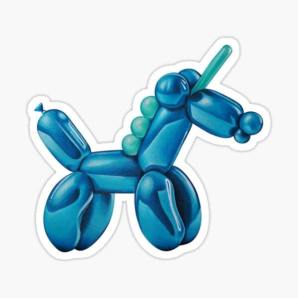 Balloon Unicorn Sticker