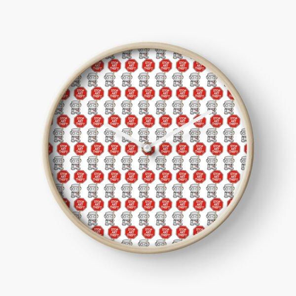 Stop Art Theft (O'BOT) Clock