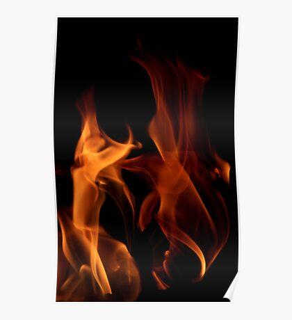 Flame Dancers Poster