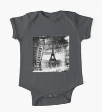 Vintage Eiffel Tower Paris #3 T-shirt One Piece - Short Sleeve