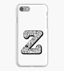 The Letter Z iPhone Case/Skin