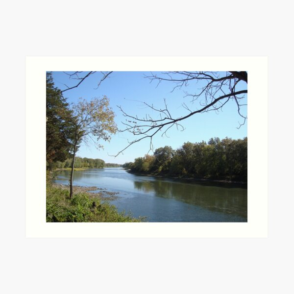 C and O Canal, Maryland Art Print