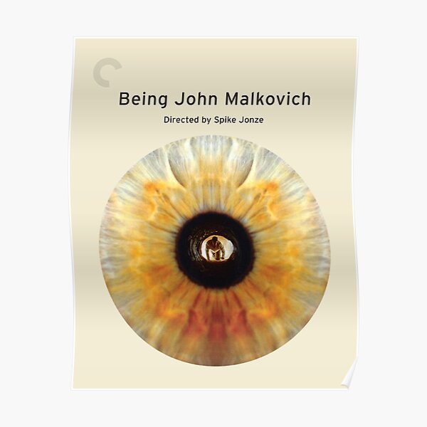 Criterion Collection Spine #611 - Being John Malkovich (1999) Poster