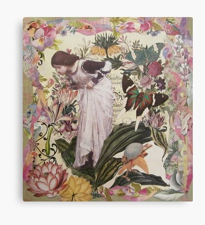 My Garden's Embrace Canvas Print