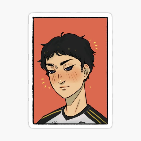 AKAASHI ? | HAIKYUU FANART Sticker