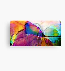 Coloured Abstract Canvas Print