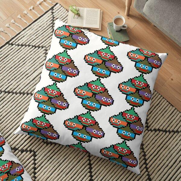 Teenage Gootant Ninja Slurples Floor Pillow