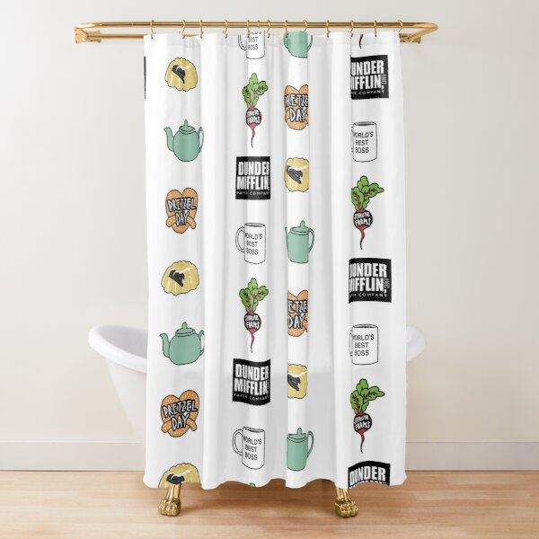 The Ultimate Office Pack Shower Curtain