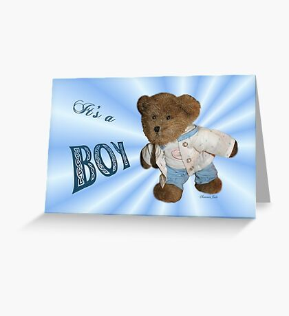 Take Me Along With You ~ Teddy Bear  Greeting Card