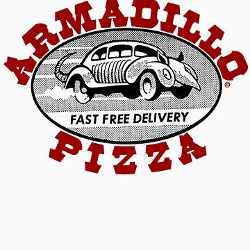 Armadillo Pizza by Astrobeej