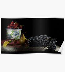 Back to Classic Dutch Still Life Poster