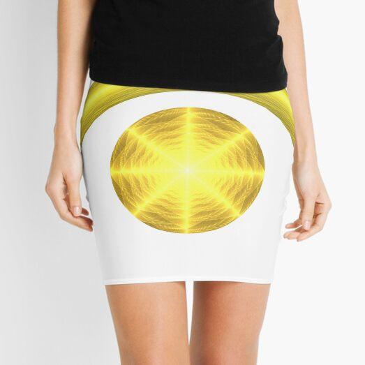 Sun and Crescent Moon | Enlightened Eye 2 Mini Skirt
