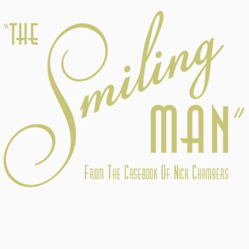 The Smiling Man -- Logo (Dark) by Astrobeej