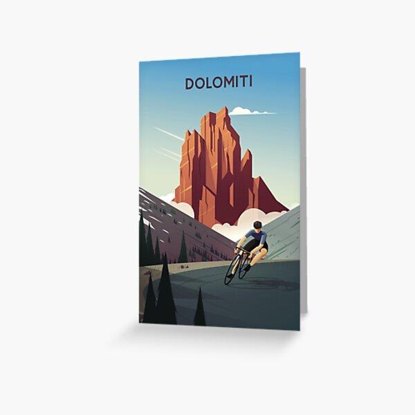 Dolomiti Greeting Card