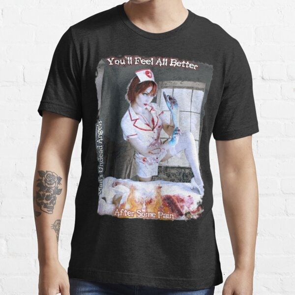 Live Undead Angels: Undead Nurse Essential T-Shirt