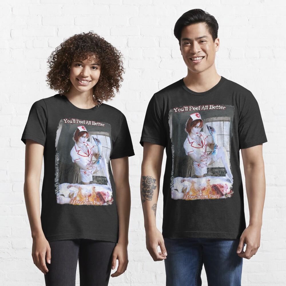 Live Undead Angels: Undead Nurse Essential T-Shirt