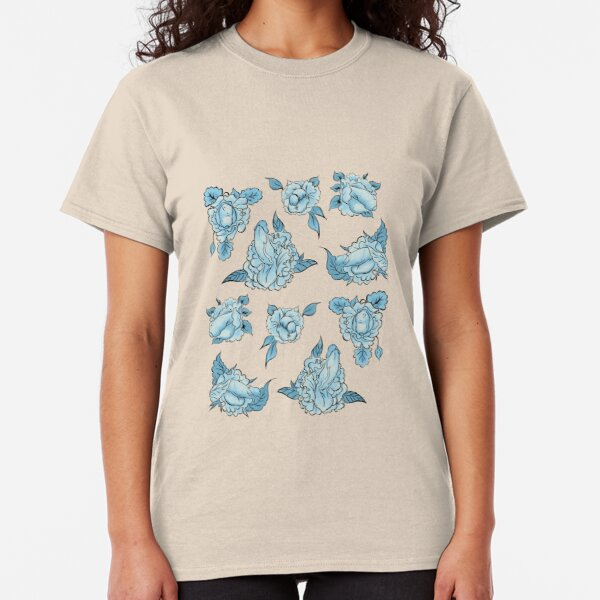 Floral Dick pattern Classic T-Shirt