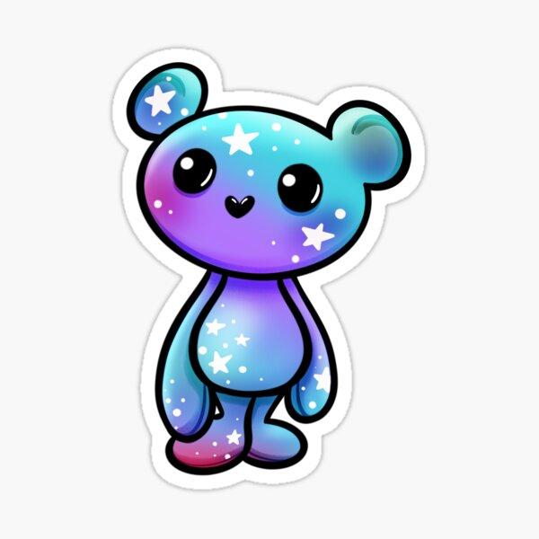 Hercules the Galaxy Bear Sticker