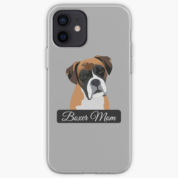 Boxer Mom iPhone Soft Case