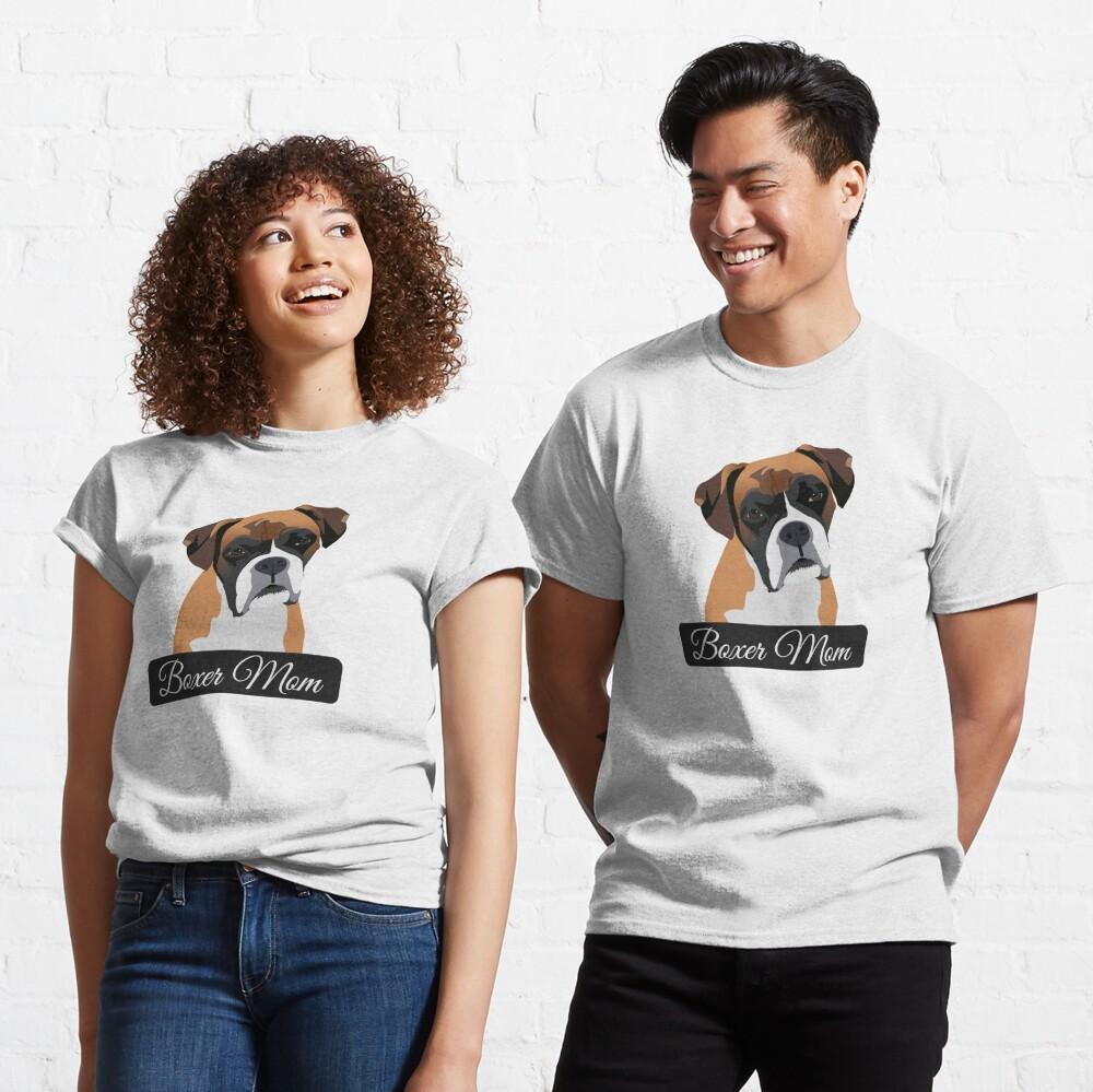 Boxer Mom Classic T-Shirt