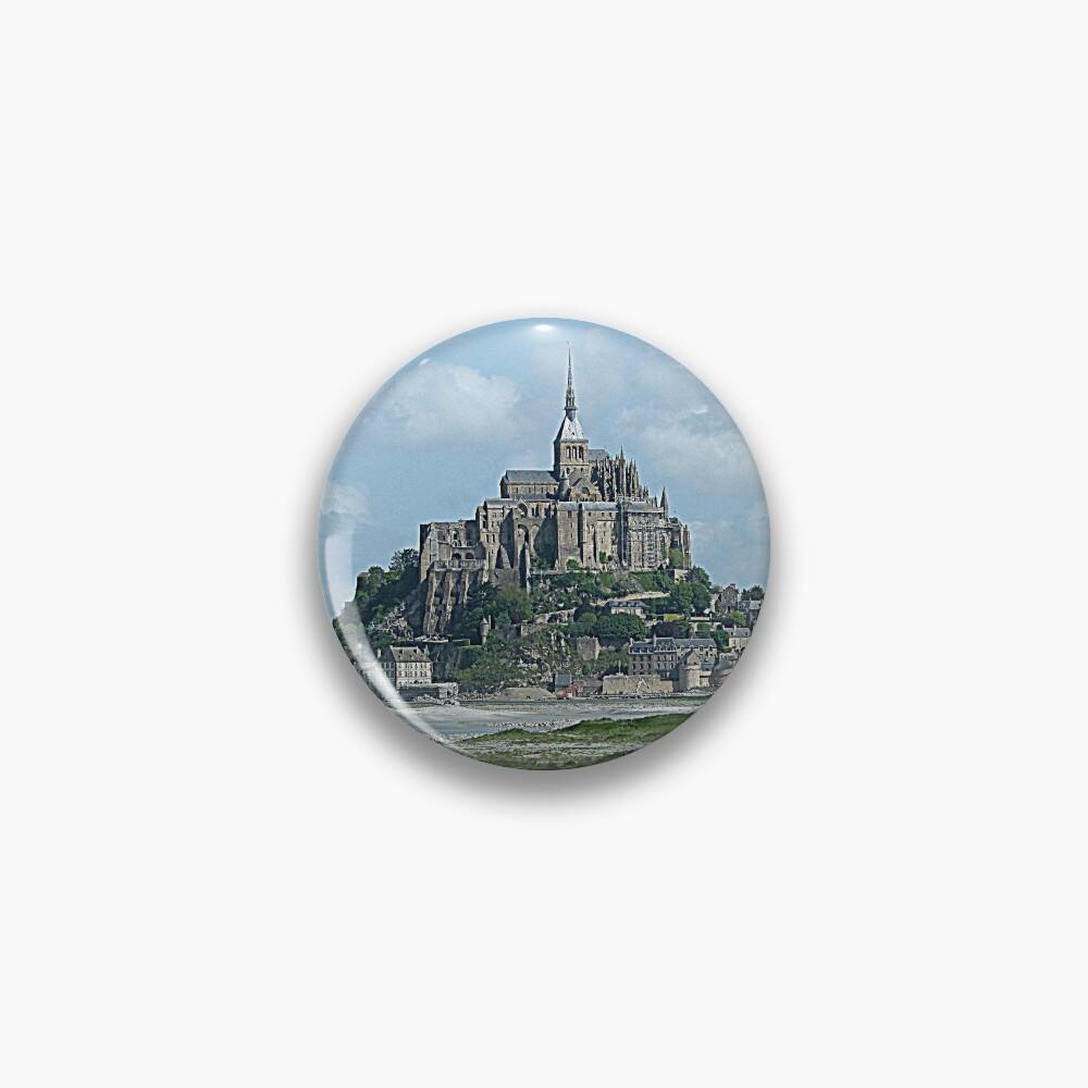 Mont Saint Michel brooch
