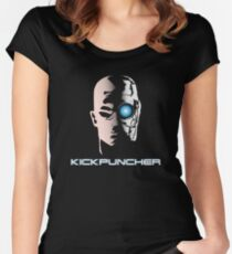 Kickpucnher Women's Fitted Scoop T-Shirt