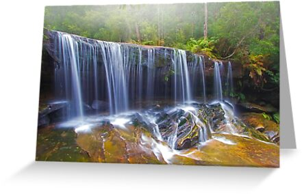 Falling Mist by Mark  Lucey