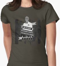 One Accurate Measurement... Womens Fitted T-Shirt