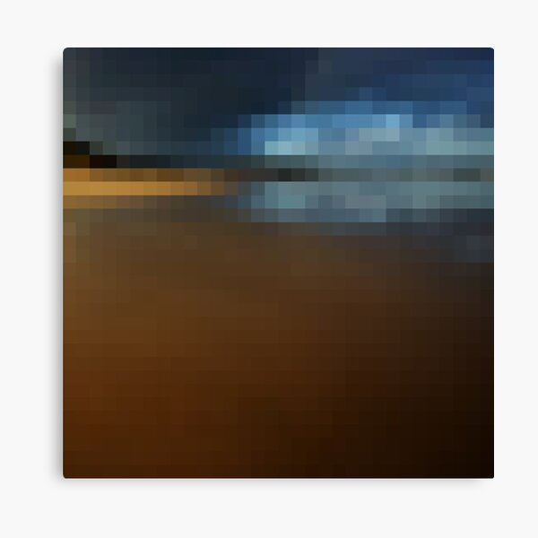 32 by 32 - Anglesea (2) Canvas Print