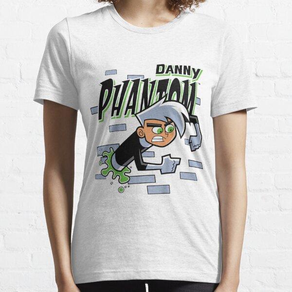 Danny Phantom Coming Through Brick Wall Essential T-Shirt