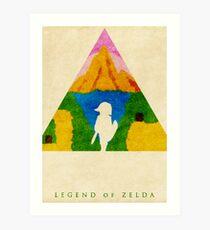 Legend Art Print