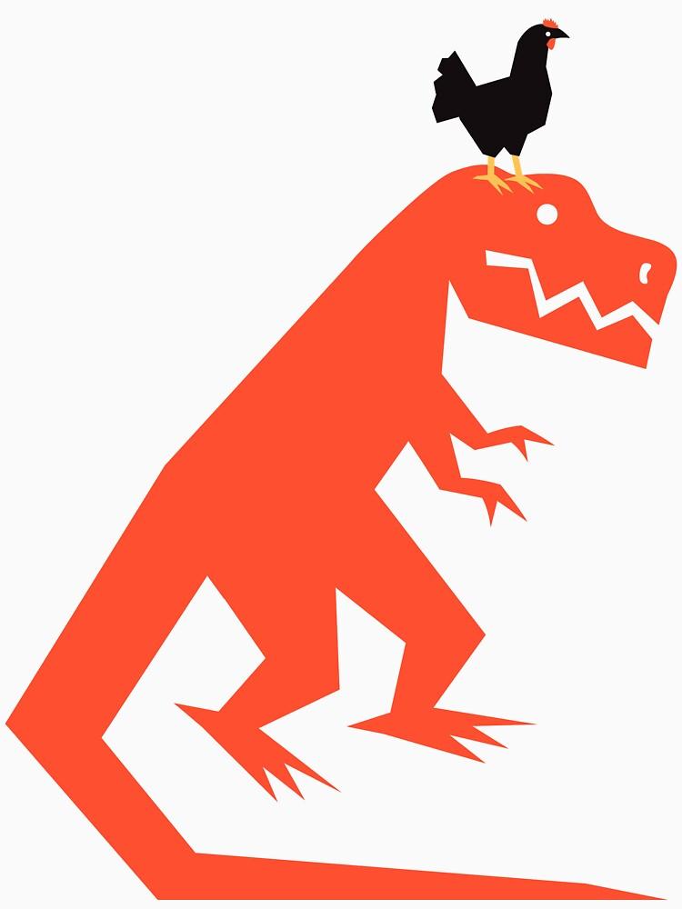 Chickensaurus Rex  by bridge8