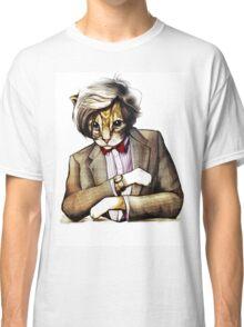 Catt Matt Smith posed as Dos Equis Interesting Man Classic T-Shirt