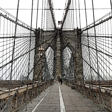 Brooklyn Bridge by suemari