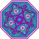 Purple Persian Mandala by redqueenself