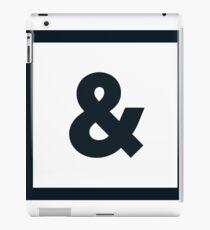 "Alphabet ""&"" iPad Case/Skin"