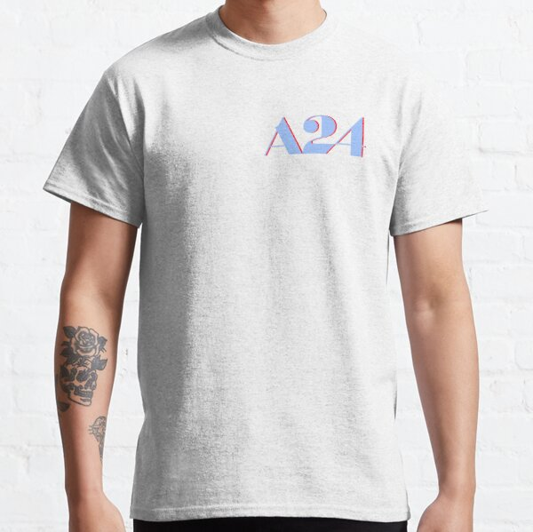 A24 Blue and Red Logo Classic T-Shirt