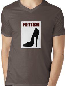 FETISH - Highly Erotic High Heels Mens V-Neck T-Shirt