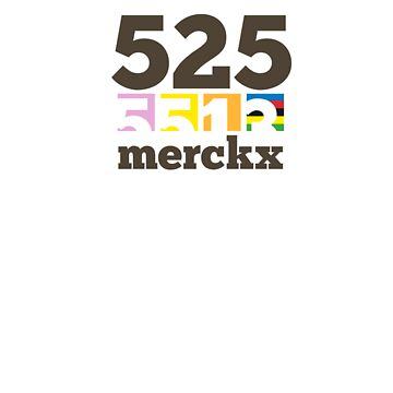 Eddy Merckx - 525 by Velocast