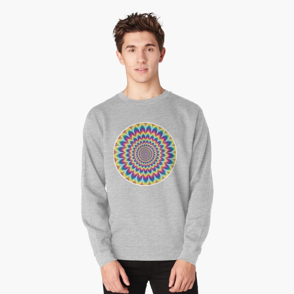 Psychedelic Art, ra,sweatshirt,x1850,heather_grey,front-c,105,45,1000,1000-bg,f8f8f8