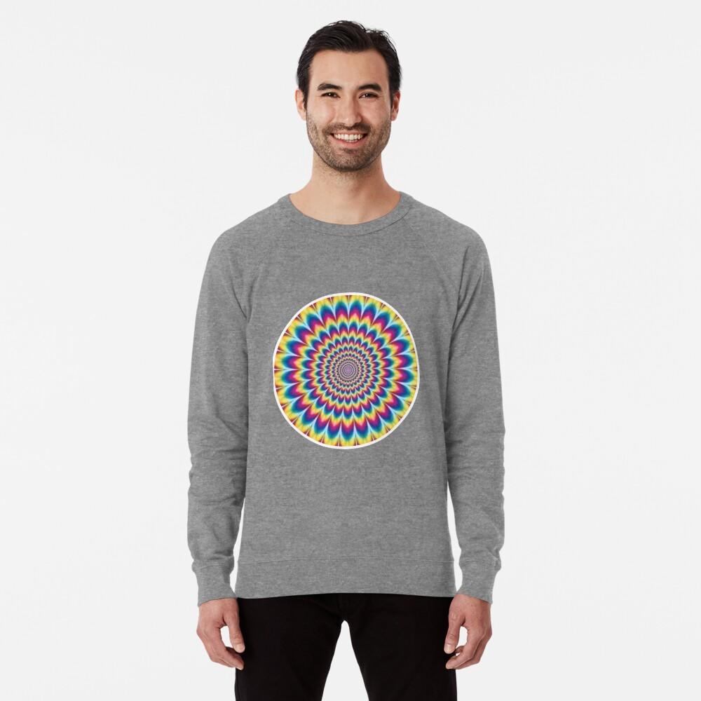 Psychedelic Art, ssrco,lightweight_sweatshirt,mens,heather_grey_lightweight_raglan_sweatshirt,front,square_three_quarter,x1000-bg,f8f8f8