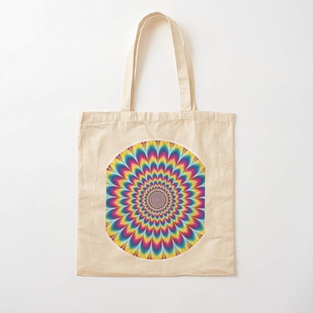 Psychedelic Art, ssrco,tote,cotton,canvas_creme,flatlay,square,1000x1000-bg,f8f8f8