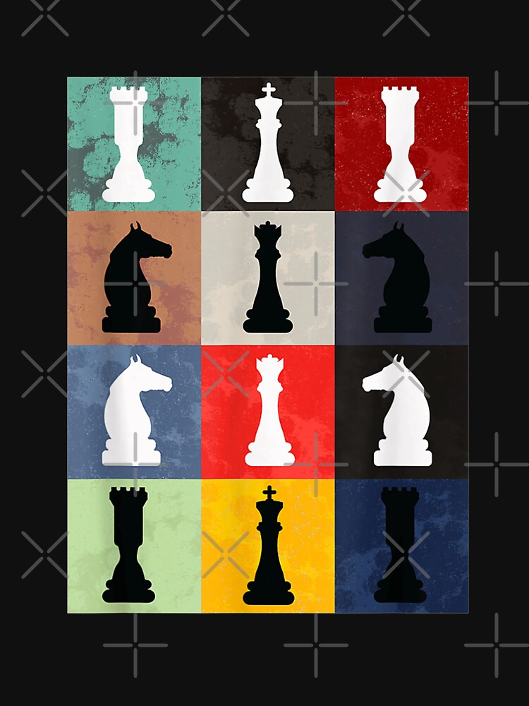 Vintage Retro Chess - Perfect gift for chess players by CalimeroPiccio