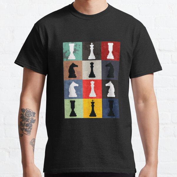 Vintage Retro Chess - Perfect gift for chess players Classic T-Shirt