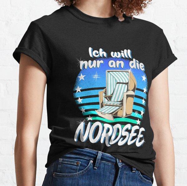 muss nur an die Nordsee Urlaub See Therapie brauch Ich nicht Damen T-Shirt