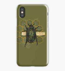 escher's june bug iPhone Case