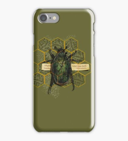 escher's june bug iPhone Case/Skin