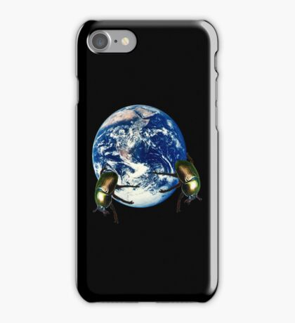 dungbeetle earth iPhone Case/Skin