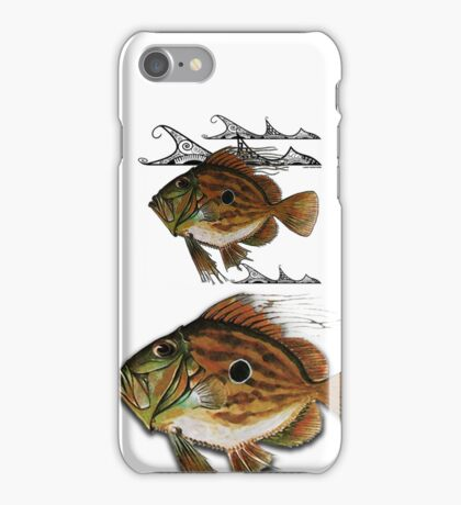 john dory - tribal waves iPhone Case/Skin